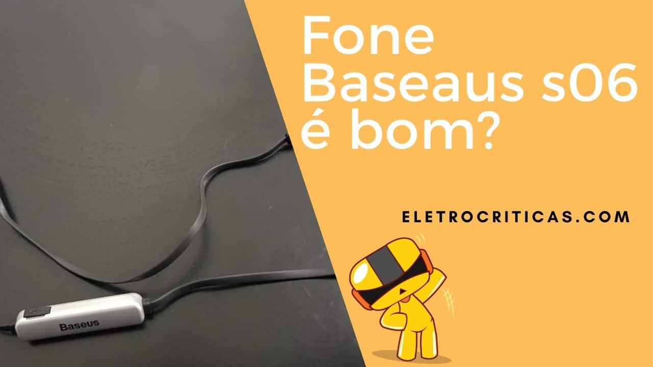 Baseus S06 Neckband Bluetooth Earphone Wireless é bom? Review completo!