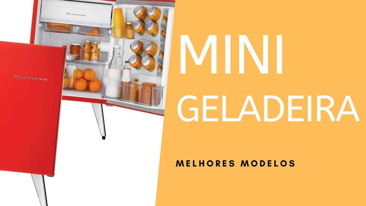 As 04 melhores mini geladeira do Mercado!