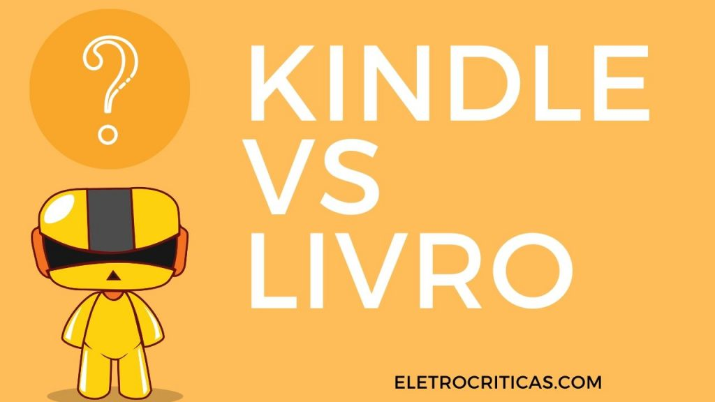 kindle vs livro