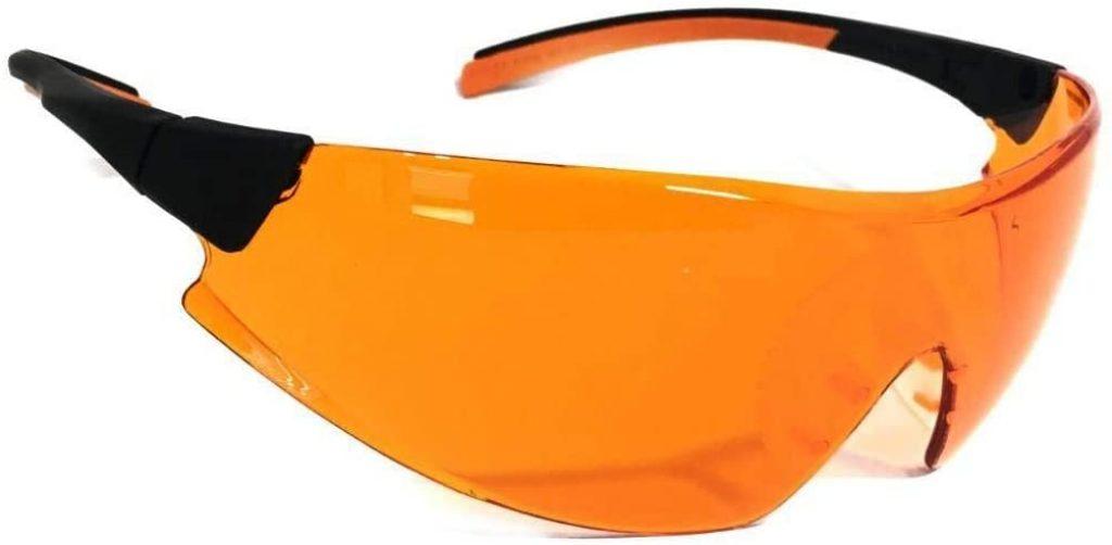 oculos laranja bloqueador de luz azul