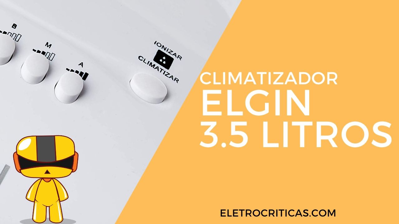 Climatizador de Ar Elgin Smart 3,5 Litros Branco é bom?