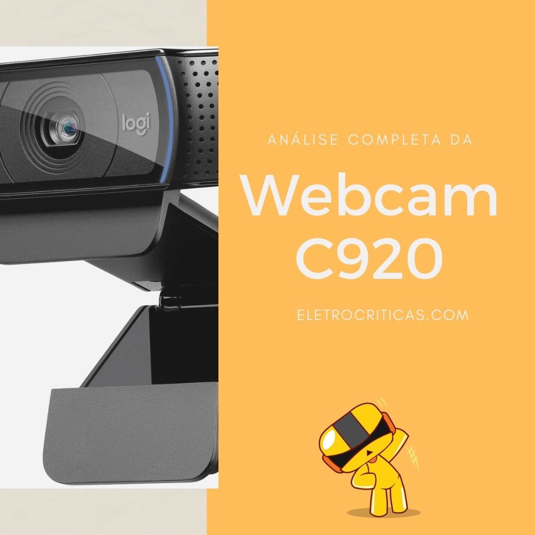 Logitech HD Pro Webcam C920 é boa? Review completo
