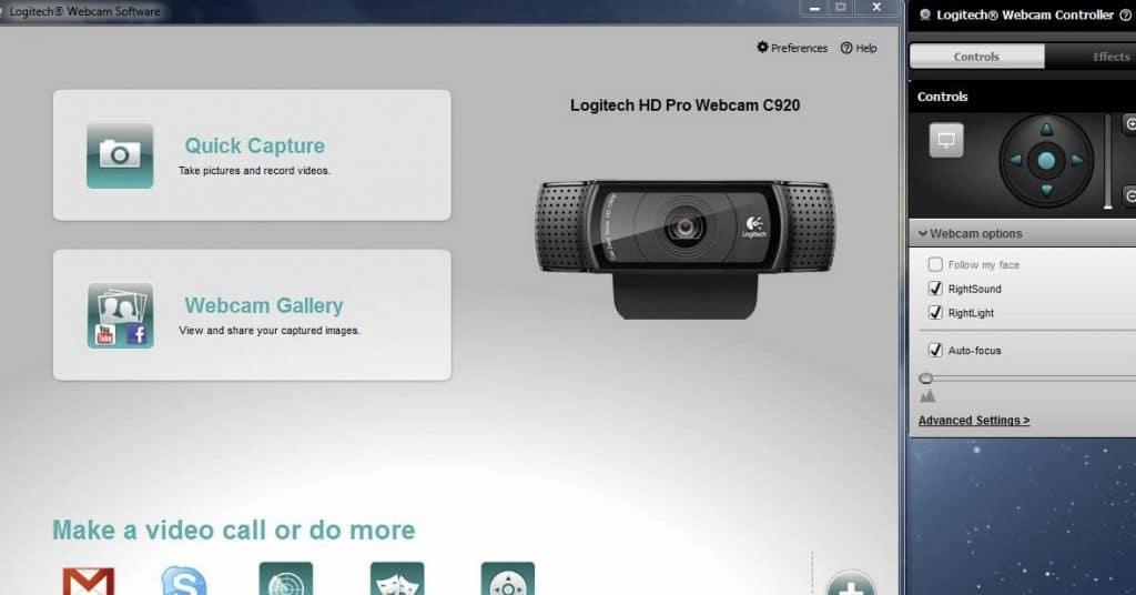 software da Logitech para editar videos
