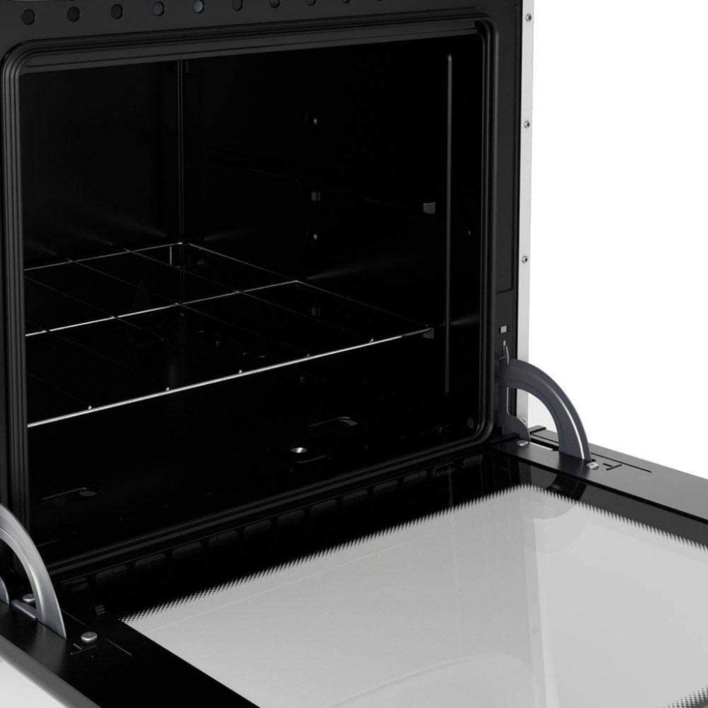 forno aberto do fogão fratello