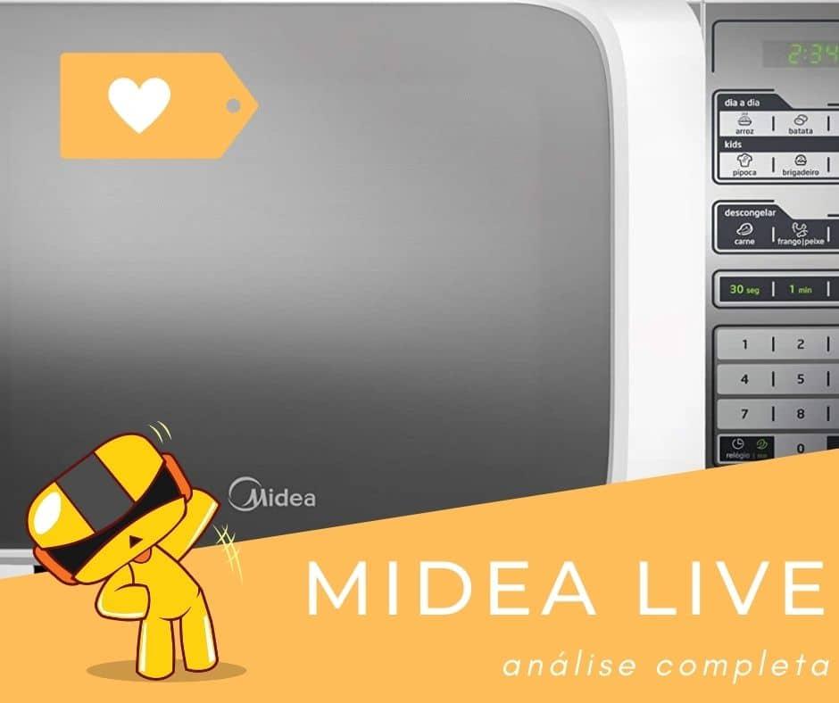 Micro-ondas Midea Live com 21L ou 31L é bom?