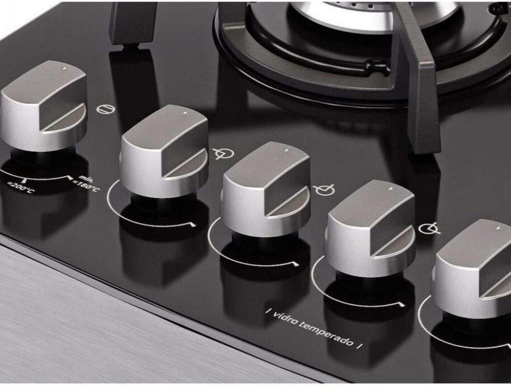foto frontal dos botões