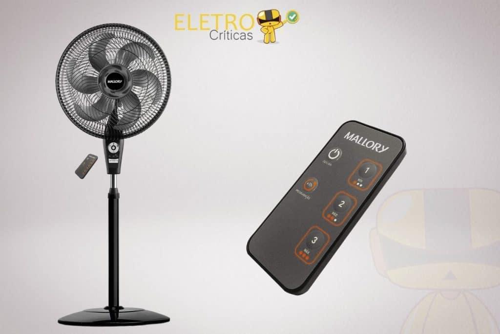 Ventilador de Coluna, Air Timer Style TS+ e controle remoto