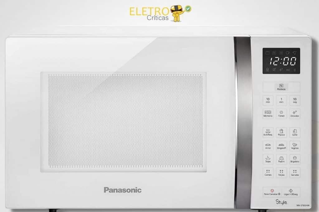 Micro-ondas Panasonic NN-ST65HWRUN - 110V, 32L,